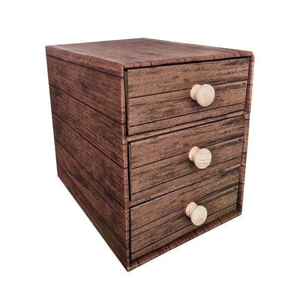 cajonera carton madera